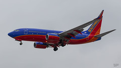 Southwest N273WN (Brian Stewart Photography) Tags: southwest plane airliner airport midway chicago airplane aircraft