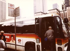 ca1983-SCRTD-bustraffic-002 (Metro Transportation Library and Archive) Tags: scrtd southerncaliforniarapidtransitdistrict busexterior boarding dtla