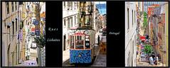Les  rues et ruelles de Lisbonne   (philippedaniele) Tags: vividstriking portugal lisbonne rues tramway