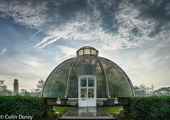 Kew -Winter 2016-1.jpg (Colin Dorey) Tags: clouds kew kewgardens richmond surrey uk london botanicgardens botanic winter december 2016 park gardens trees architecture structure building palmhouse glasshouse greenhouse