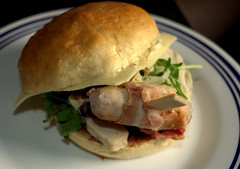 Christmas Club Bun with Chargrilled Roast Turkey, Applewood Smoked Bacon, Brussel Sprout Slaw, Cranberry Relish, Brioche Bun (Tony Worrall) Tags: add tag ©2016tonyworrall images photos photograff things uk england food foodie grub eat eaten taste tasty cook cooked iatethis foodporn foodpictures picturesoffood dish dishes menu plate plated made ingrediants nice flavour foodophile x yummy make tasted meal christmasclubbunwithchargrilledroastturkey applewoodsmokedbacon brusselsproutslaw cranberryrelish briochebun