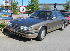 1987 Rover 825 (Spottedlaurel) Tags: rover 800 825