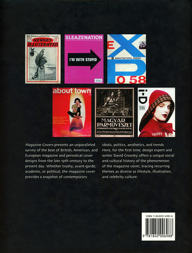 Mitchell Beazley - David Crowley - Magazine Covers (back)