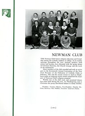 Newman Club (Hunter College Archives) Tags: students club 1936 photography yearbook clubs hunter activities huntercollege studentorganizations organizations studentactivities studentclubs newmanclub wistarion studentlifestyles thewistarion