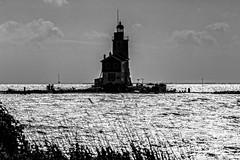 Paard van Marken B-W (Caesar56) Tags: lighthouse marken markermeer paardvanmarken caesar56