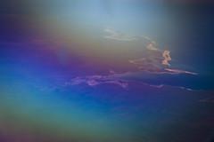 final pieces of magic (Rosa Menkman) Tags: rainbow magick refraction airplain