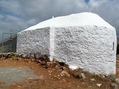 Profitis Ilias chapel from the rear (pefkosmad) Tags: white church exterior religion chapel greece greekislands pefkos rhodes greekorthodox dodecanese pefki profitisilias pefkoi prophetelijah rhodes2013