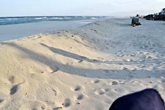 White sand (Despina Titoni) Tags: blue sea white color beach sand empty silhouettes greece olympicbeach