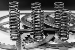 Clutch parts (Alt Ubante) Tags: spring clutch pressureplate