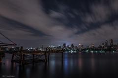 East River (Tomoji-ized) Tags: city urban night log exposure manhattan eastriver landskape hirakata tomoji
