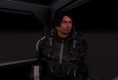 Vince : The Captain (A Moonbiter) Tags: male space handsome sensual fantasy armor future scifi futuristic