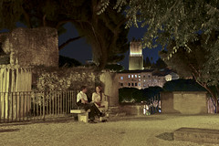 Whisper in a summer night (Adrien Zograffi) Tags: life street people urban calle strada personas persone vida rue personnes vita vie