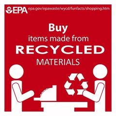 Buy Recycled (usepagov) Tags: shopping recycled buy recycle recycling climatechange climate infographic actonclimate