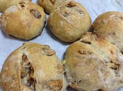 rye bread (ayako07) Tags: bread lunch vegan fig
