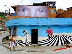 Quartier Santo Domingo (Montre ce qu'il voit!) Tags: streetart graffiti julien streetphotography medellin vidal colombie photoderue pentaxk5 ilobsterit