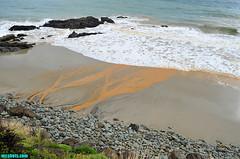 Ventura5101 (mcshots) Tags: ocean california travel winter sea usa beach nature water colors rain coast scenery surf waves mud stock socal mcshots swells venturacounty runoff