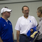 """<b>Football Alumni Gathreing</b><br/> Former football players and their families gathered for a luncheon over homecoming weekend to celebrate 100 years of Luther College football. Photo by Breanne Pierce<a href=""""http://farm6.static.flickr.com/5494/10139429856_87296d7ae2_o.jpg"""" title=""""High res"""">∝</a>"""