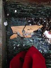 (anjamation) Tags: trash copenhagen may lookingdown christiania christianshavn unaltered 2013 droppedstuff iphone5