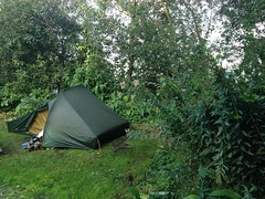 Our mini-tent at De Vier Elementen (TijsB) Tags: camping lake nature utrecht rowing fkk loosdrechtseplassen gaycouple naturists devierelementen tijsjoan naturistenvereniging