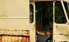 Yellow Van (pmorris73) Tags: montague junkyard massachusetts century 2cee 3cee 4cee