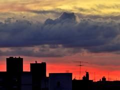 """Atardecer con nubes (1)"" (Marcelo Savoini) Tags: sunset atardecer nikon nubes cluods d7000"