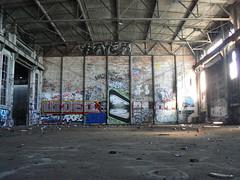 gats wall (httpill) Tags: streetart art graffiti oakland video tag graf gats