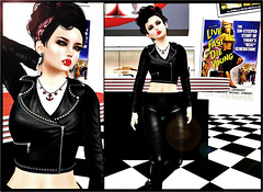 Miss-Take (Anaka Sparrowtree) Tags: life cute leather hair truth events nation fair second rockabilly accessories jewelery poison outfits jackets depraved seraphim the secondlifefashion secondlifebloggers sakide