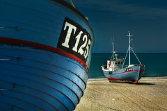 Old School Fishing Boat (michaelbennati) Tags: denmark abigfave