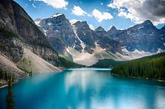 Moraine Lake (justenoughfocus) Tags: canada alberta banffnationalpark landscapephotography