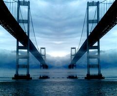 Bay Bridge (StateMaryland) Tags: bridge storm weather clouds bay memorial ominous william kip lane preston brennan 50 chesapeake rt spans