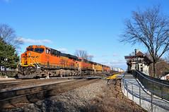 Portland Bound (The Mastadon) Tags: road railroad chicago train illinois midwest rail railway trains il transportation locomotive railroads chicagoland douchebag flatlander midwestern