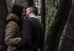 just feelings (By_Axe) Tags: park autumn boy love nature girl kiss belarus minsk smooch familiarity firstkiss boyandgirl justlove closedistance warmrelations