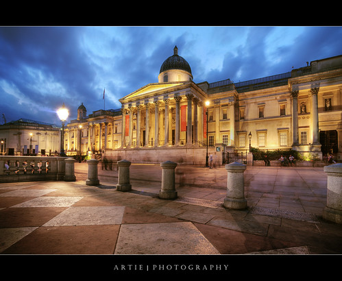 The National Gallery, London, England :: HDR