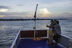 Mekong Selfie (Keith Kelly) Tags: city cruise sunset water evening boat asia cambodia seasia southeastasia capital phnompenh kh aroundtown mekong tonlesap boatride selfie mekongriver kampuchea