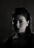 Hannah Santibanez - Hurrell Style (Rod Nunley) Tags: vintage blackwhite 1940s fresnel hurrell