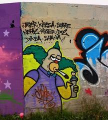 Graffiti La Rochelle, Aytré (thierry llansades) Tags: street urban streetart wall painting french graffiti mural graf spray peinture urbanart painter 17 graff larochelle aerosol charente peintures graffitis fresque poitou graffs charentesmaritime charentes charentemaritime aytré fresques poitoucharentes dbma aytre frenchgraff frechgraff