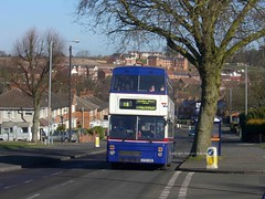 2721, Hoggs Lane 06/03/09 (MCW1987) Tags: travel west national mk2 express midlands metrobus mcw 2721 a721uoe