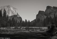 2014 Jan 13 - Gates of the Valley moonrise - 64.jpg (Don Jurgens) Tags: ca winter night nationalpark moonrise yosemite yosemitevalley gatesofthevalley