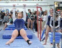 DSC_4791 (K.M. Klemencic) Tags: school ohio lady high bees gymnastics medina hudson explorers mustangs strongsville