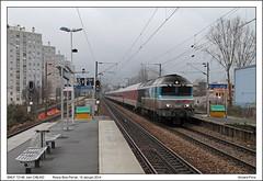SNCF 72148 - Rosny Bois Perrier - CNL450 (19-01-2014) (Vincent-Prins) Tags: 450 sncf cnl ligne4 72148 rosnyboisperrier cc72100
