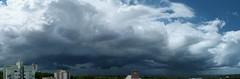 Aproximação   Storm Front (IgorCamacho) Tags: summer brazil sky panorama cloud storm paraná brasil front céu shelf southern cielo nubes tormenta nuvens verão sul temporal tempestade