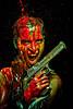 Move Over Bond (cszar) Tags: portrait woman color face model nikon colorful gun denise nikkor speedlight softbox cls airsoft d600 deserteagle strobist 85mmf14g captureone7