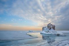 Lake Michigan Iceberg (jeff_a_goldberg) Tags: winter illinois day unitedstates cloudy lakemichigan highlandpark hdr nationalgeographic fortsheridan lcfpd lakecountyforestpreservesdepartmentlcfpd pwwinter