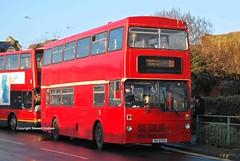 BIG8750, Egham 12/02/14 (MCW1987) Tags: bear london buses transport metrobus mcw mk1 c336buv m1336 big8750 {vision}:{outdoor}=0969 {vision}:{car}=0916 {vision}:{text}=0584