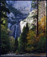 Yosemite Falls (edenseekr) Tags: falls yosemite watercoloreffect digitallypainted
