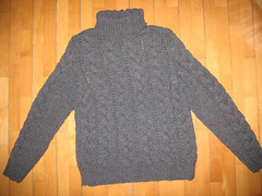 Cabled wool turtleneck (Mytwist) Tags: wool fetish sweater craft collection jumper turtleneck knitted pullover cabled woolfetish handgestrickt woolfreaks