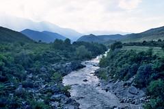 de Solanzara rivier, Corsica Frankrijk 2002 (wally nelemans) Tags: 2002 france river corse corsica frankrijk rivier solanzara