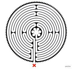 Archway Labyrinth (richardr) Tags: uk greatbritain england london art english modern circle europe european unitedkingdom britain contemporary tube tubestation british londonunderground archway labyrinth europeanunion wallinger markwallinger northlondon