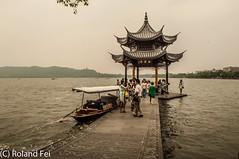 HZ-19 (rolandrain) Tags: china travel blackandwhite lake west nature beauty landscape photography nikon scenery chinese scenic westlake serenity hangzhou epic  xihu calmness zhejiang lightroom d90