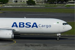 PR-ABB ABSA Cargo Boeing 767-316F(ER)(WL) - cn 29881 / ln 778 (Diegonvs) Tags: plane fly taxi aircraft aviation air jet aeroporto fir recife avio aviao aviao nordeste rec aviacao guararapes sbrf sbre